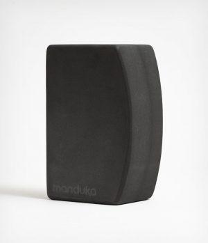 Manduka unBLOK Yoga Blok EVA-Schaum - Grau – 23 x 15 x 10 cm