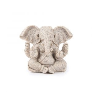 Ganeshafigur Sand - 8 cm