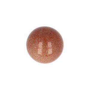Edelstein Kugel Goldfluss (20 mm)