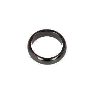 Edelstein Ring Hämatit (6 mm - Größe 20)