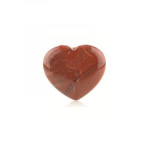 Edelstein Herz Roter Jaspis (45 mm)