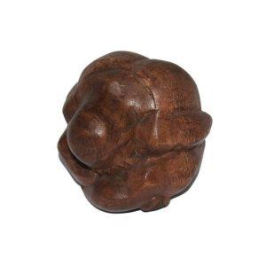 Holz Statue Yogi (6 x 6 cm)