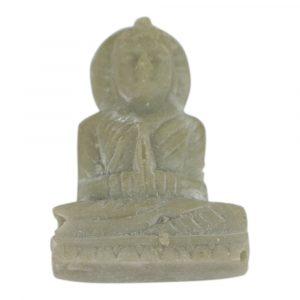 Reise-Buddha Speckstein