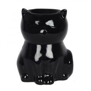 Aromabrenner Schwarze Katze (12 x 9 x 8, 5 cm)