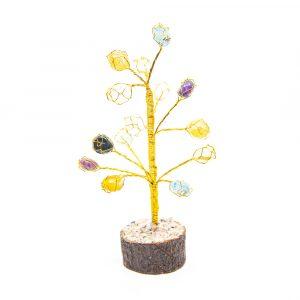 Edelstein-Baum Onyx-Trommelsteine 18 cm