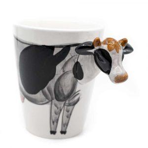 Tasse Handbemalte Kuh