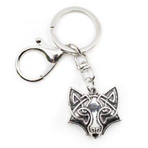 Schlüsselanhänger Beschützer Wolf