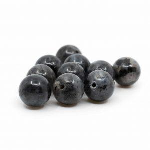 Edelstein Lose Perlen Labradorit - 10 Stück (10 mm)