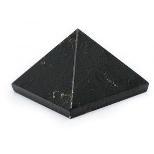 Pyramide Edelstein Schwarzer Turmalin (25 mm)