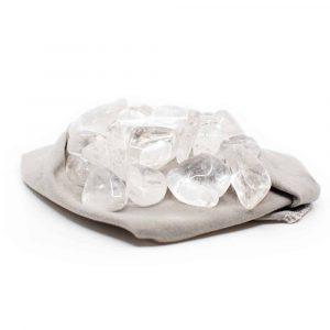 Trommelsteine Bergkristall Lademix (20 bis 40 mm) - 200 Gramm