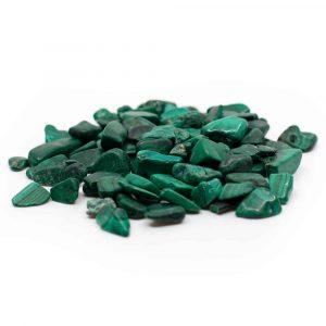Trommelsteine Malachit (5 bis 10 mm) - 100 Gramm