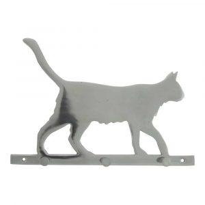 Garderobe Katze - 3 Haken