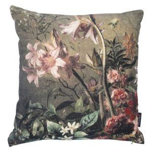 Samt Kissen Blumen Modell 3 (45 x 45 cm)