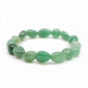 Edelstein Armband grüner Aventurin Trommelsteine