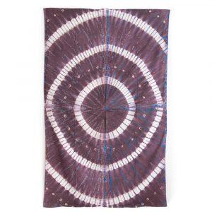 Authentisches Wandtuch Baumwolle mit Ringen (215 x 135 cm)
