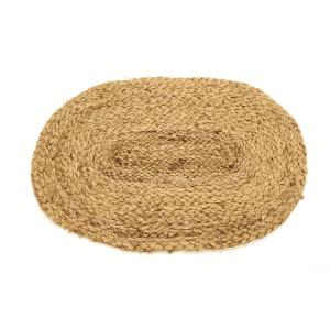 Jute Tischset Oval Natural (50 x 35 cm)