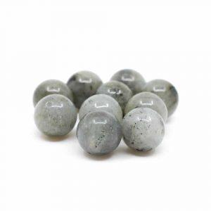 Edelstein Lose Perlen Spektrolith - 10 Stück (12 mm)
