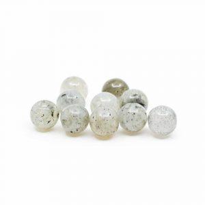 Edelstein Lose Perlen Spektrolith - 10 Stück (4 mm)