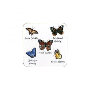 Untersetzer Schmetterlinge (Satz von 6 Stück)