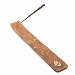 Räucherstäbchen-Halter Holz Ganesha (25 cm)