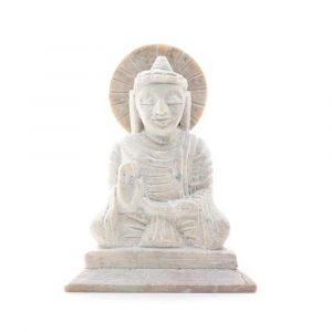 Buddha Figur - Antik-Look - Lehre (10 cm)