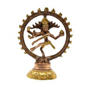 Shiva Nataraj Messing (15 cm)