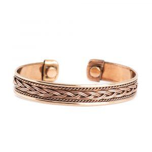 "Kupfer-Magnet-Armband ""Knoten"""
