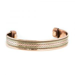 "Kupfer-Magnet-Armband ""Lifelines"""
