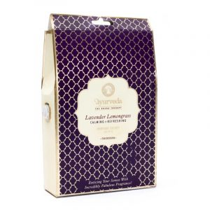 Tridosha Lavendel Zitronengras Duftbeutel zum Hängen (30 Gramm)
