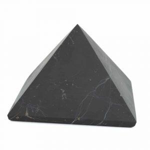 Edelstein Pyramide Schungit Ungeschliffen - 100 mm