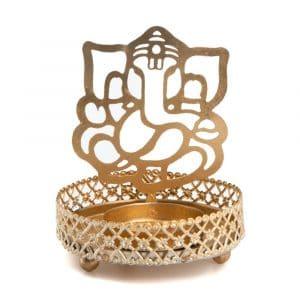 Teelichthalter Ganesha (9 cm)