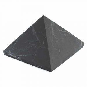 Edelsteinpyramide Shungit ungeschliffen - 30 mm