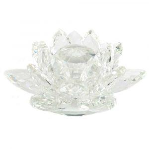 Feng Shui Regenbogen-Kristall-Lotus (11 cm)