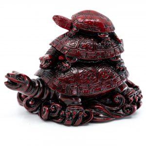 Figur Feng Shui Schildkröten für Weisheit (85 mm)