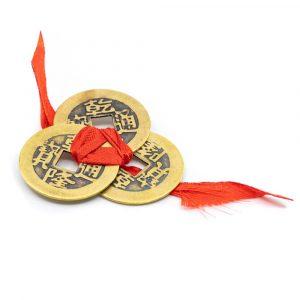 Feng Shui-Münzen für Wohlstand