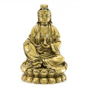 Medizinbuddha goldfarben (8,5 cm)