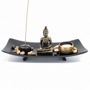 Mini Zen Altar Japanisch mit Buddha