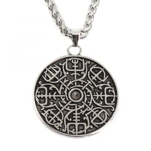 Wikinger Amulett Runenkompass